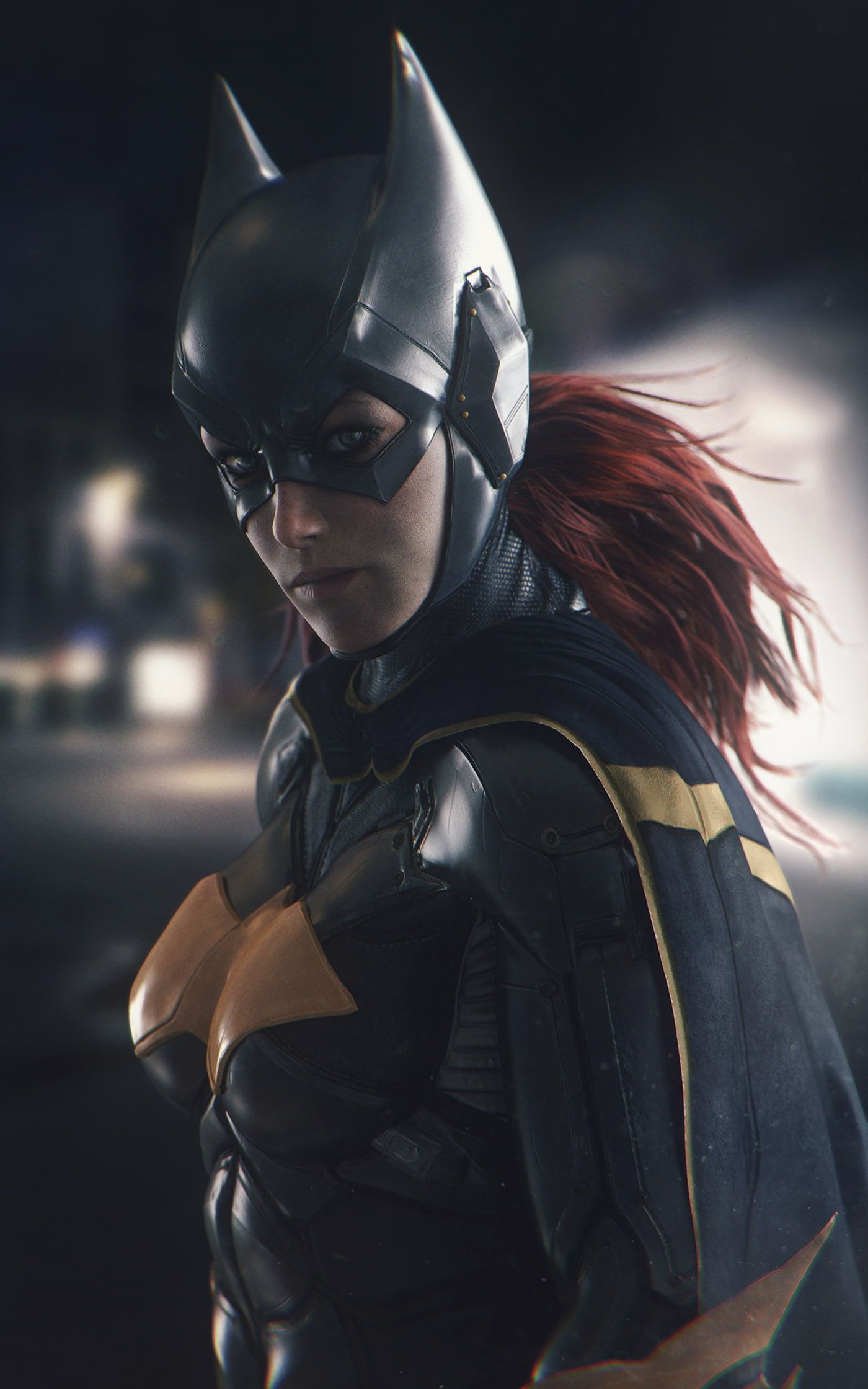 Batgirl Dc Comics Artwork Portrait Display Batman Batman Arkham Knight 1080p Wallpaper Hdwallpape Batman Arkham Knight Wallpaper Batman Comic Art Batman