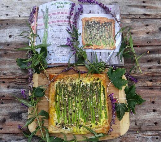 ...a quiet life...: novel bakers present the forest feast~ Asparagus Tart