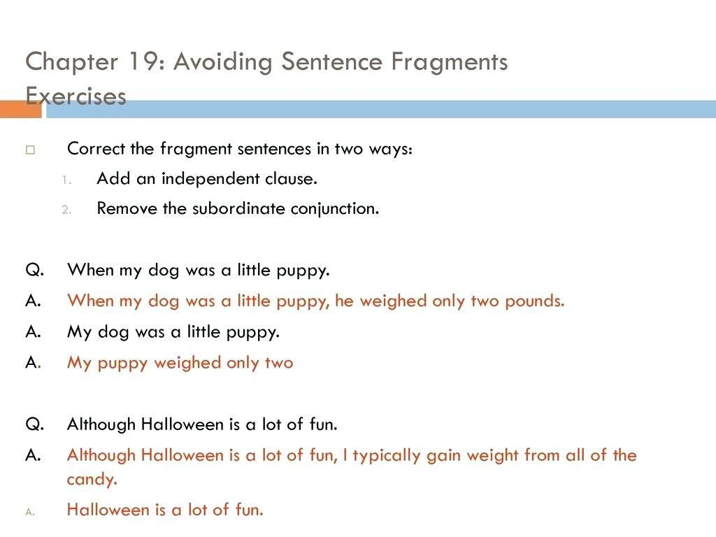 38 Identifying And Revising Run On Sentences Practice A Worksheet 5 Answers