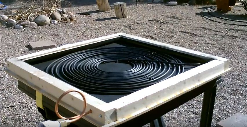 Easy diy solar water heater for free hot water solar