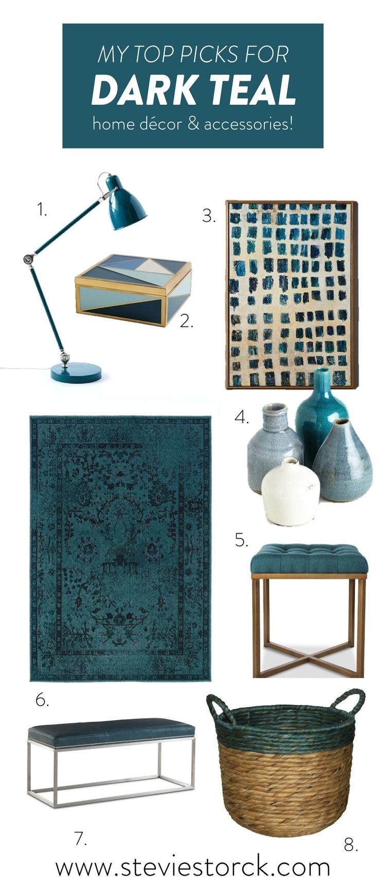 Photo of Dark Teal Home Decor Inspiration