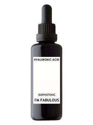 Hyaluronic acid serum, organic