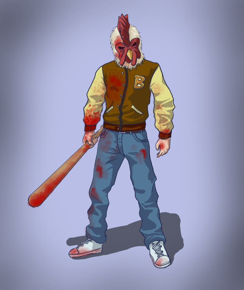 Hot Line Miami Miami Character Art Character Concept