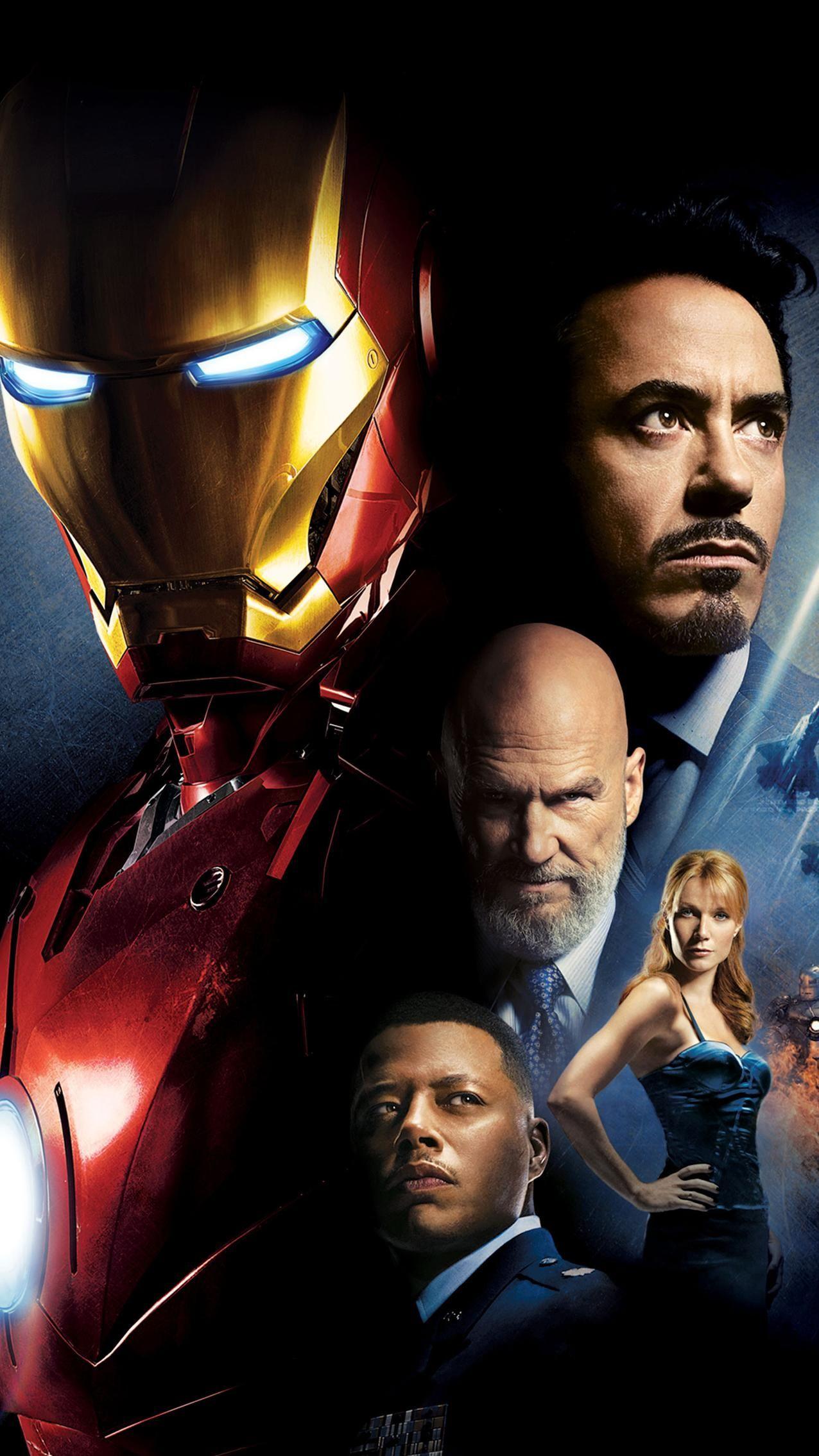 Iron Man (2008) Phone Wallpaper | Moviemania
