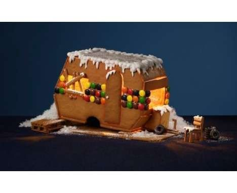 For the Alternative House It's the vintage Gingerbread House Trailer.