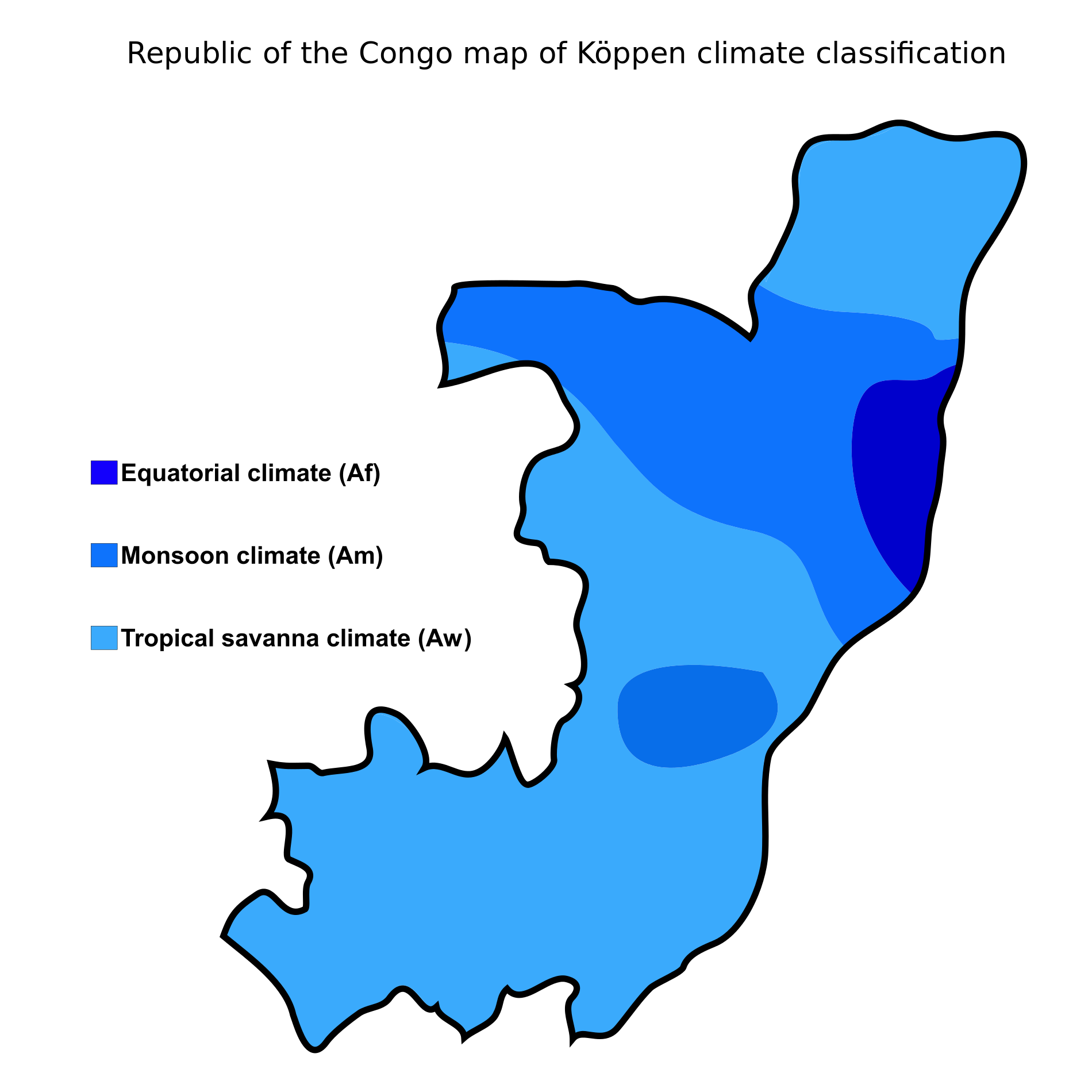 Republic of the congo map of koppen climate classification maps republic of the congo map of koppen climate classification sciox Choice Image