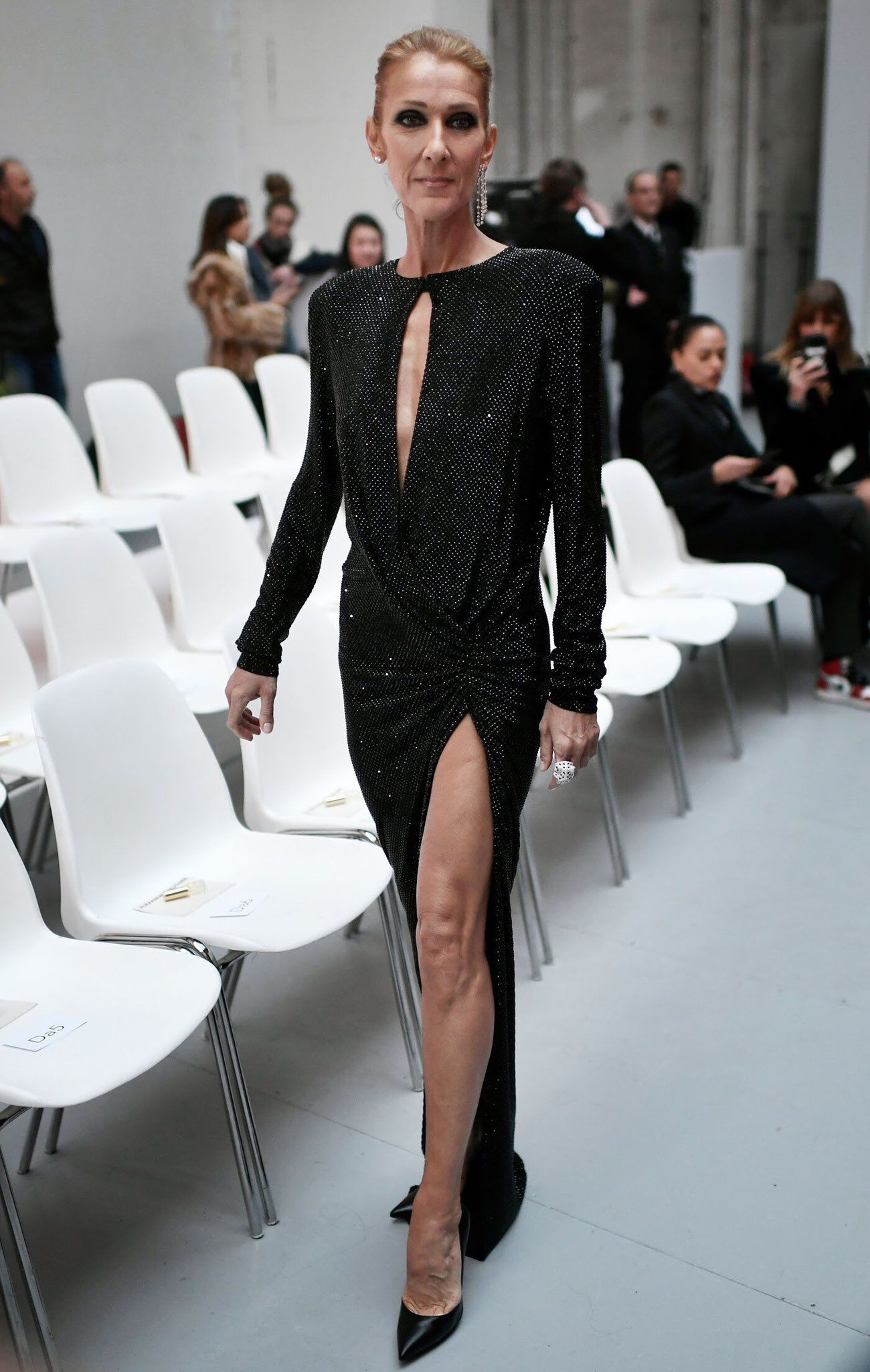 50% off great deals 2017 for whole family Céline Dion in Alexandre Vauthier #celinedion ...