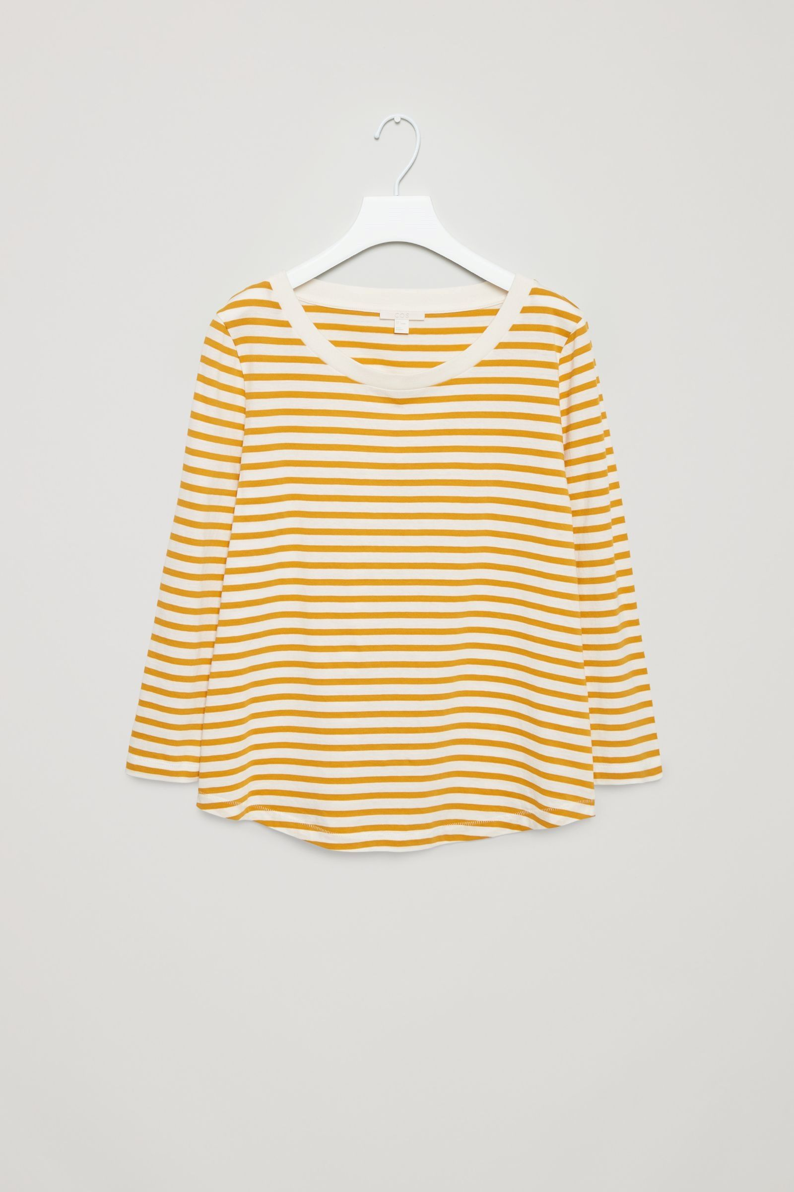 377111c01e COS - Striped Yellow T-Shirt | very new style guide | Yellow t shirt ...