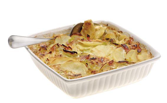 Schweizer Küche Rezepte | Luzerner Kartoffel Lauch Gratin Rezept Schweizer Kuche Gratin