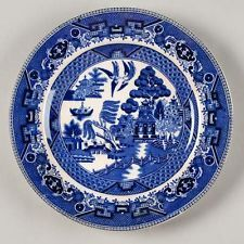 Buffalo Pottery Blue Willow. I started collecting when I was 15.
