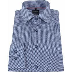 Photo of Olymp shirt Luxor Mf dark blue red Olymp