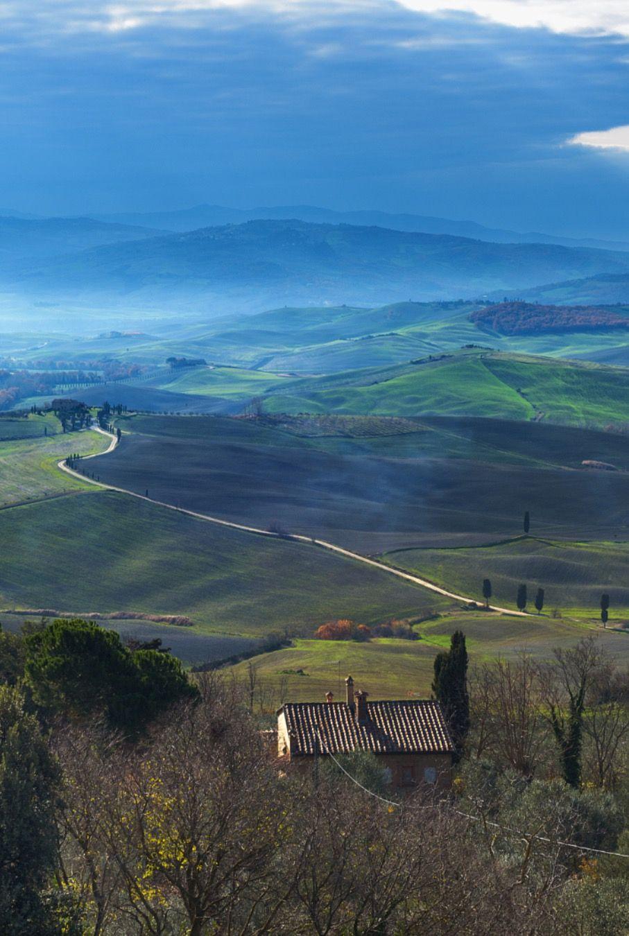 Tuscany morning by Jaroslaw Pawlak (Italy)