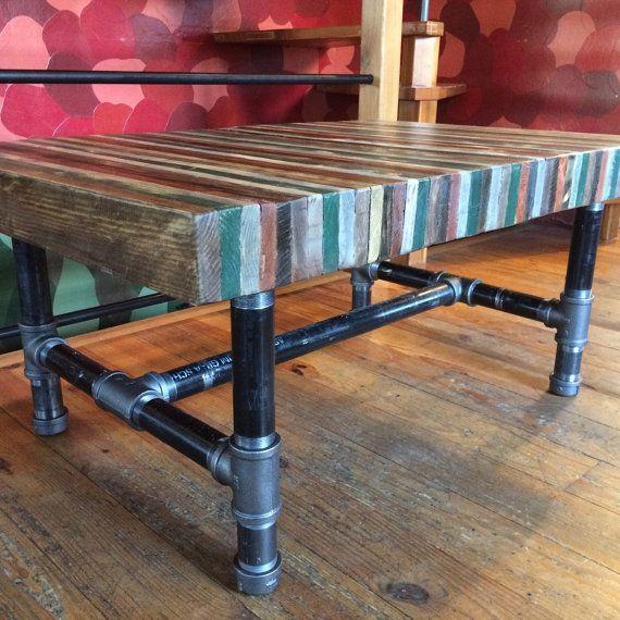 Butcher Block Countertop Height Table . 43L X 29W X 36H