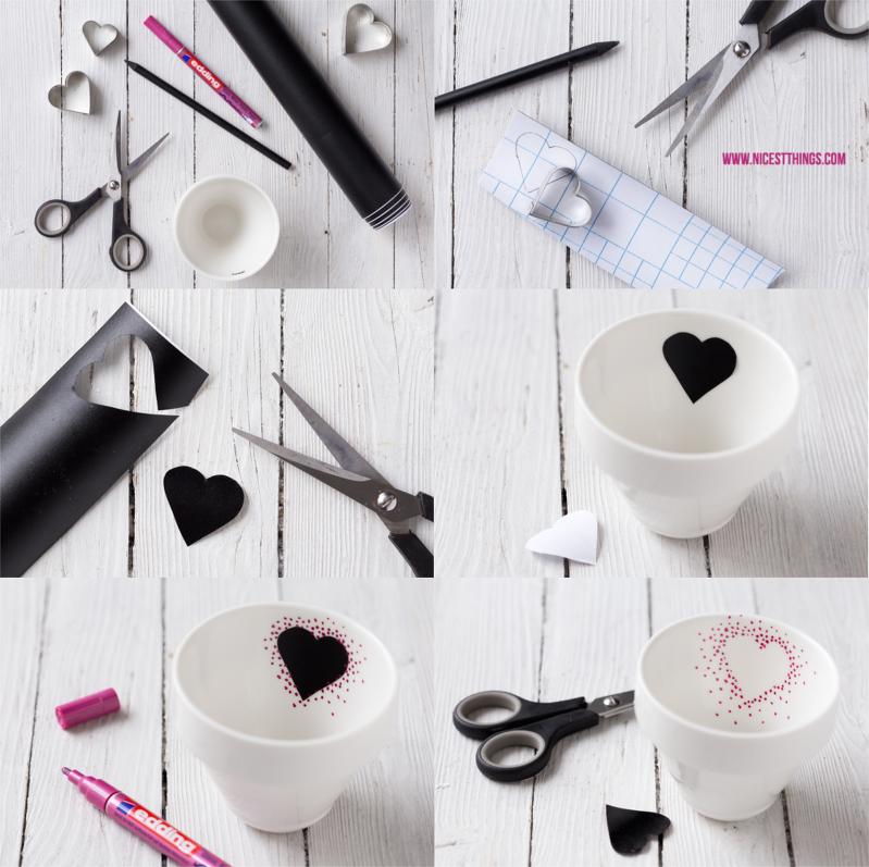 die besten 25 tassen bemalen ideen auf pinterest tassen sharpie tassen und porzellan bemalen. Black Bedroom Furniture Sets. Home Design Ideas