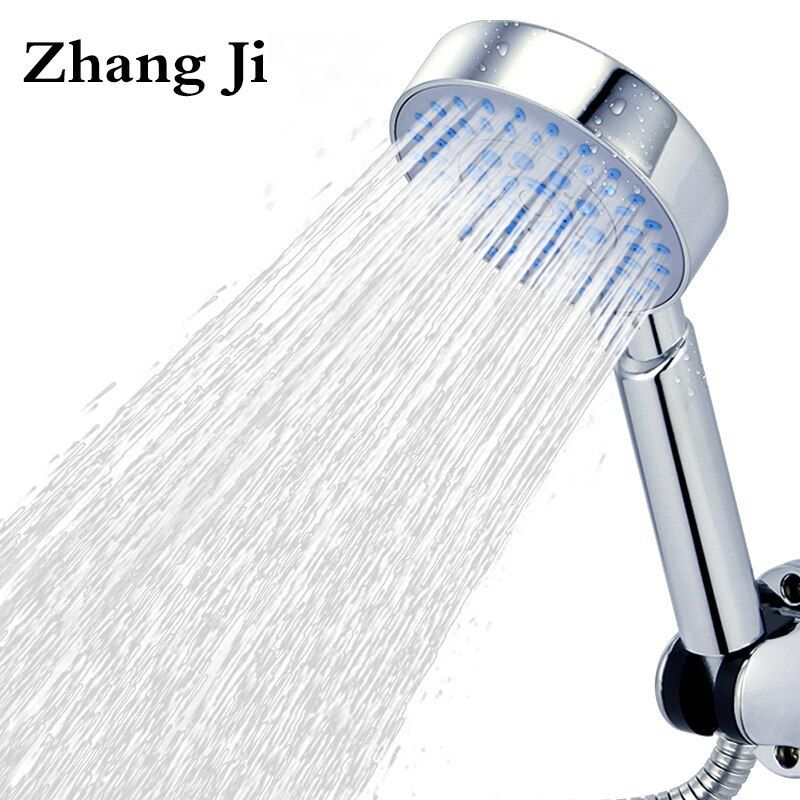 High Quality Five Fuction Silica Gel Holes Shower Head Water