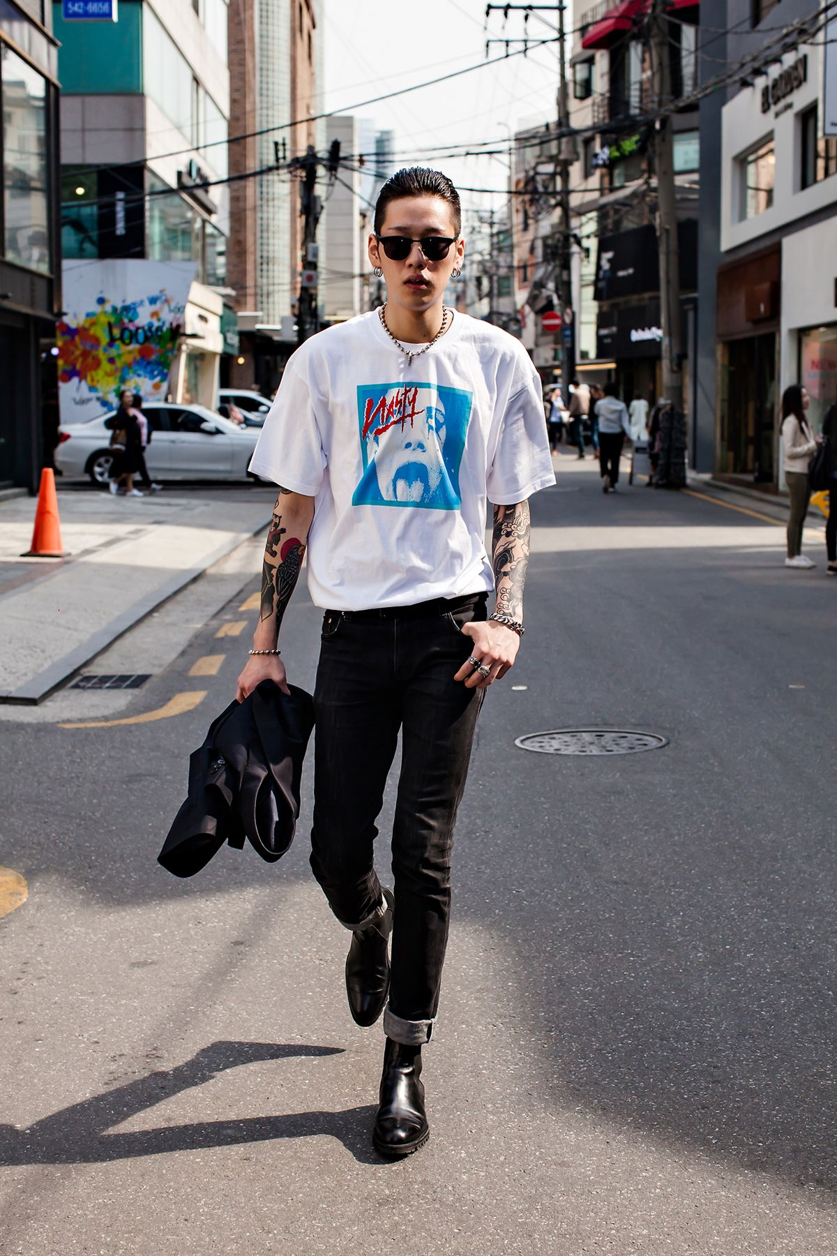 check out 4dddb 7cf7d Related image Korean Street Styles, Men Street Styles, Street Style Men,  Rock Style
