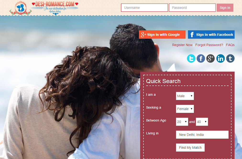 Desi dating sites