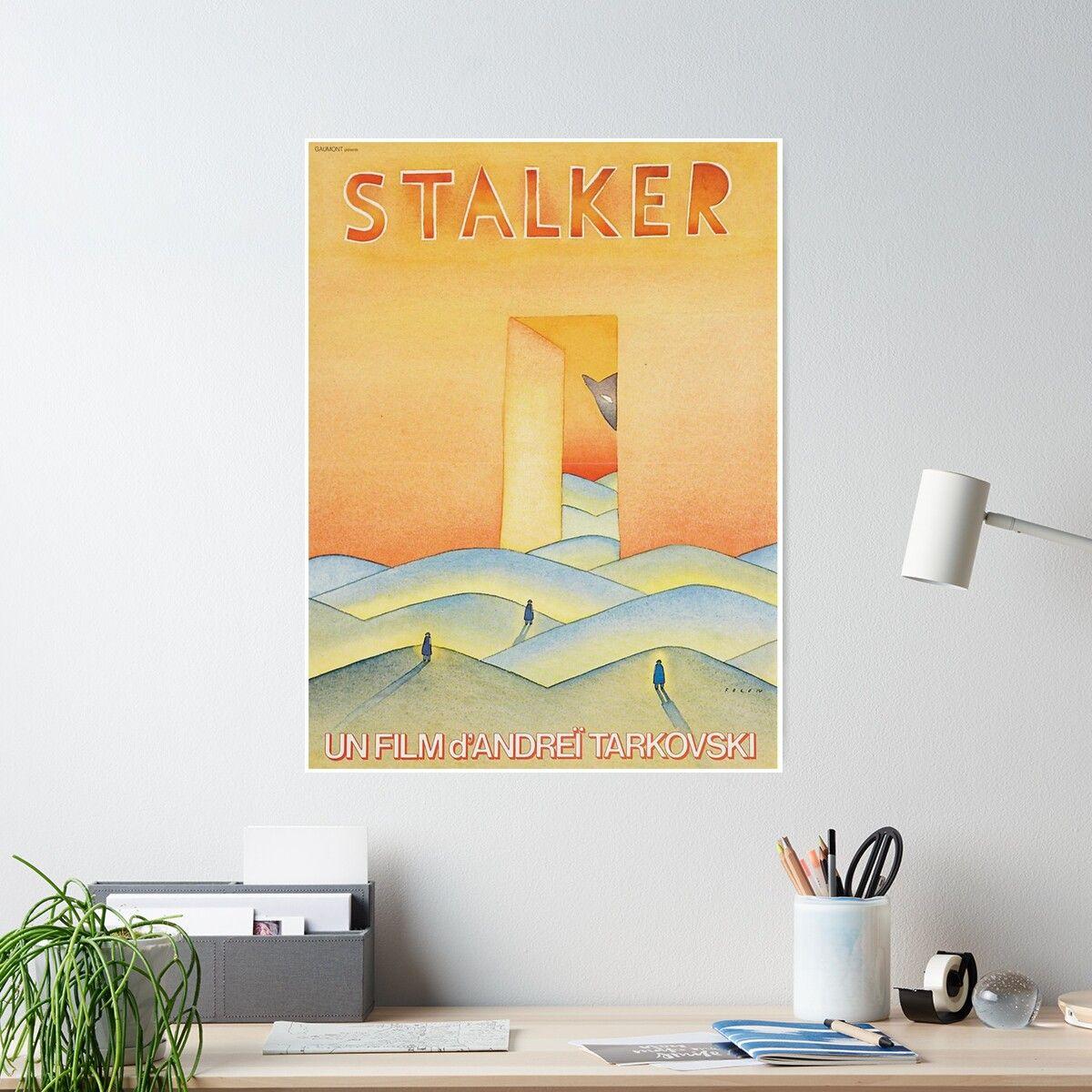 'Stalker Movie Poster Art - ' Poster by Magdalena J  Boone