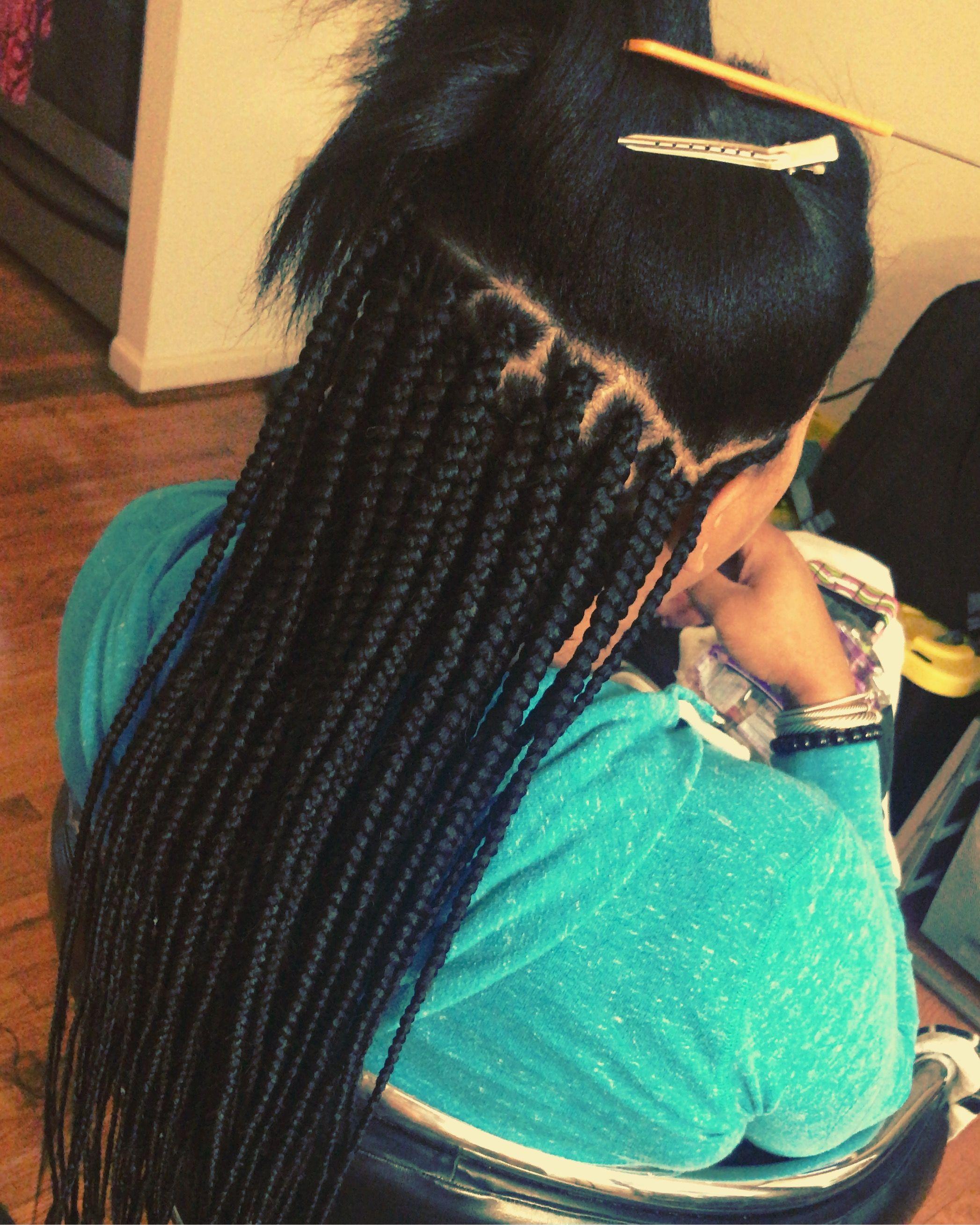 Pin By Noelle Kelly On Box Braids Hair Styles Braids For Black Hair Single Braids