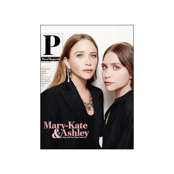 Mary-Kate And Ashley Olsen Star On The Cover Of Post Magazine
