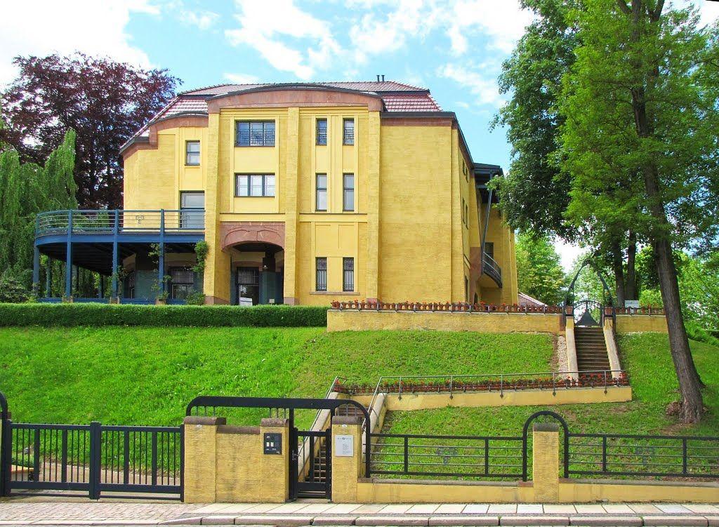 Chemnitz Villa Esche (1903 erbaut und 1911 nach Plänen