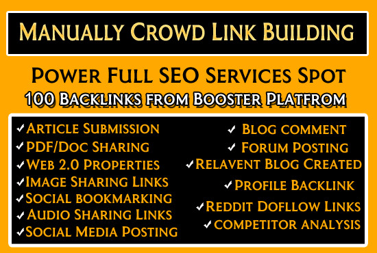 A professional link building service can improve the quality