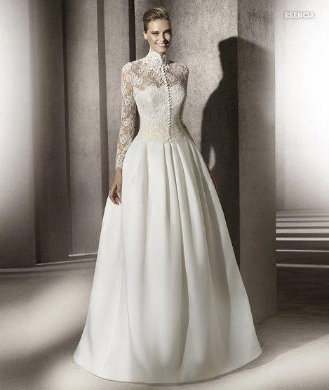 Pronovias Wedding Dresses Gowns Style ESENCIA Price Bridal Dress Cheap