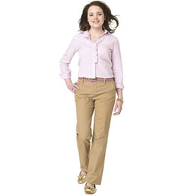 picture of women in khakes | Khaki Pants For Women | women in ...