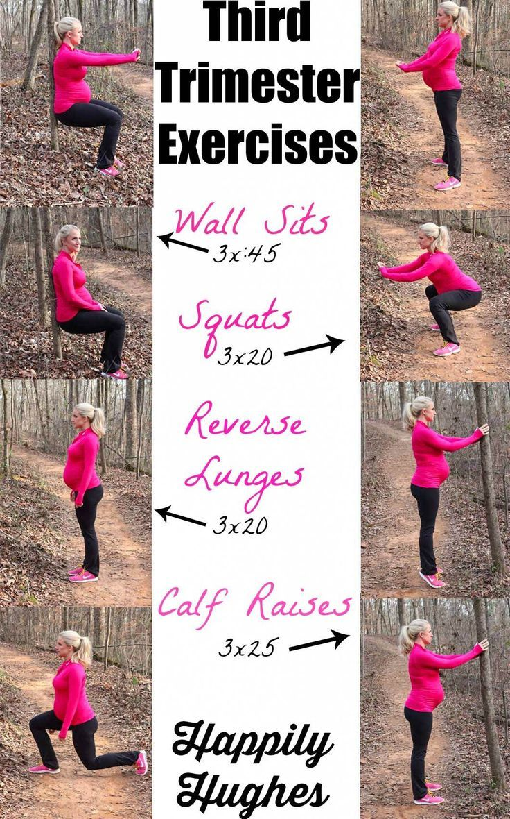 Why Not Give A Go My Third Trimester Exercises