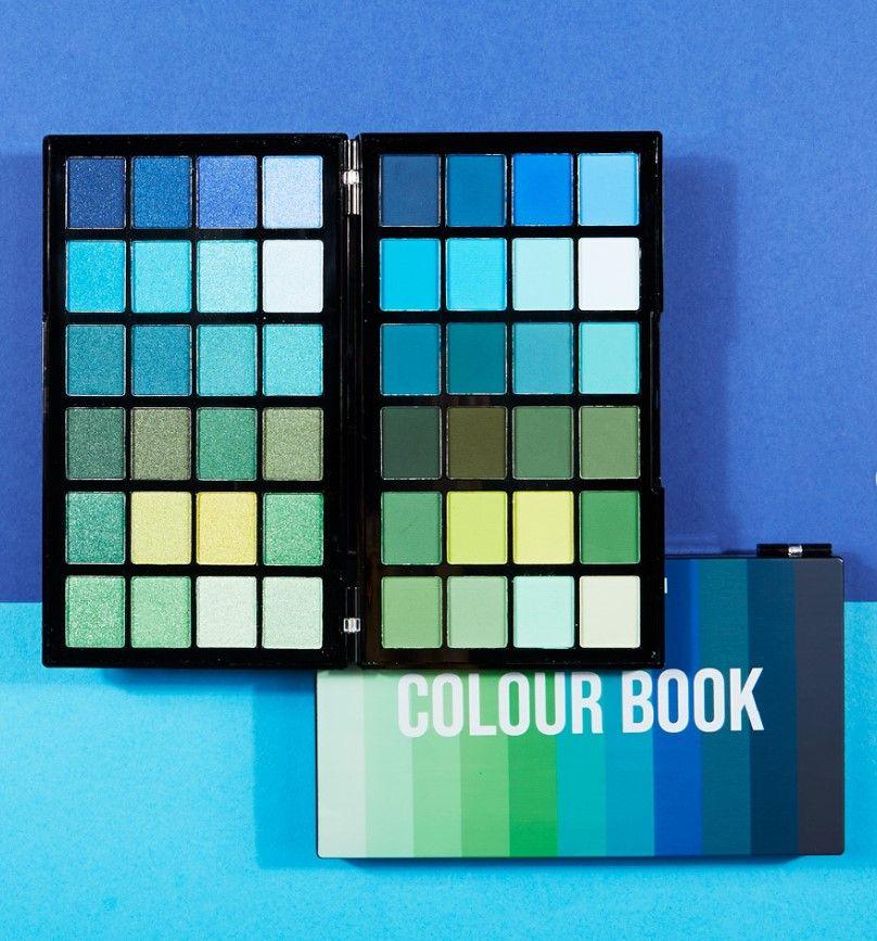Makeup Revolution Colour Book Palettes Makeup Revolution Drugstore Eyeshadow Coloring Books