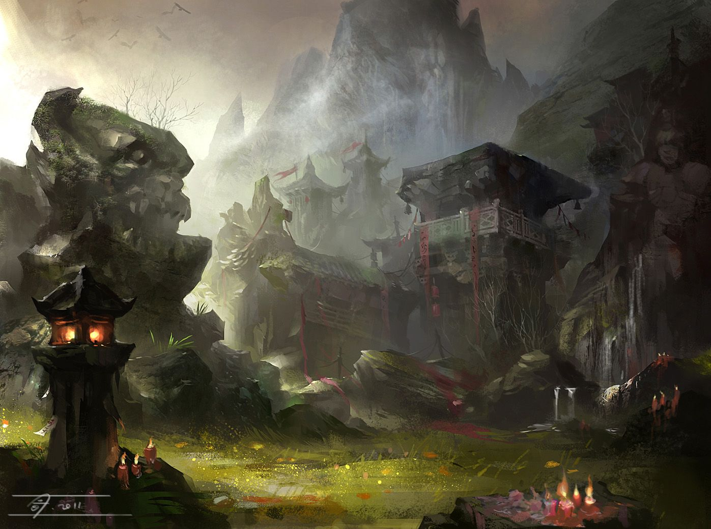 Game Background Concept Art Google 검색
