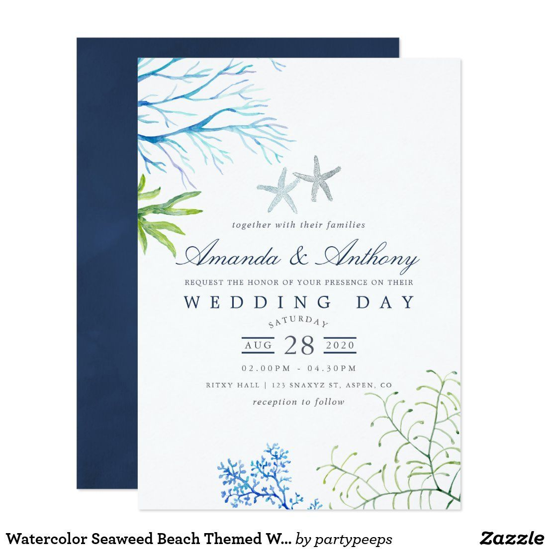 Pin On Beach Wedding Themes