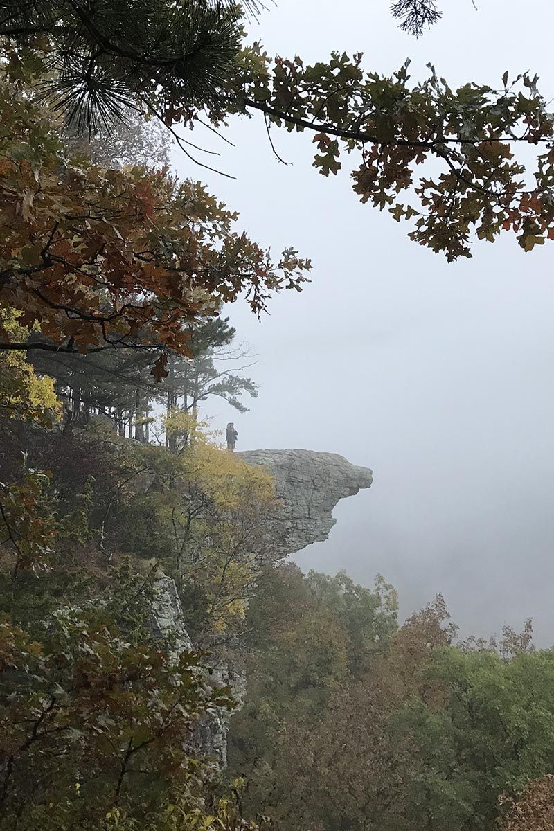 What it's really like to hike Hawksbill Crag, or Whitaker