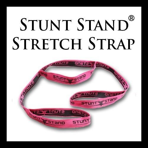 Cheerleading Stunt Stand(R) Balance & Flexibility Stretching Strap #cheerleadingstunting