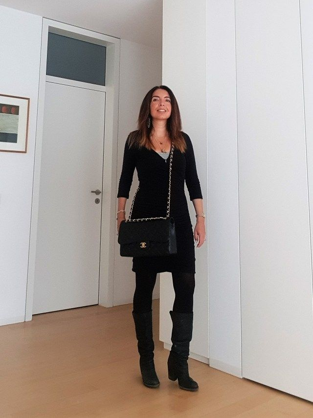 Look of The Day: a Little Black Dress for Work – non c'è tempo per lo stile