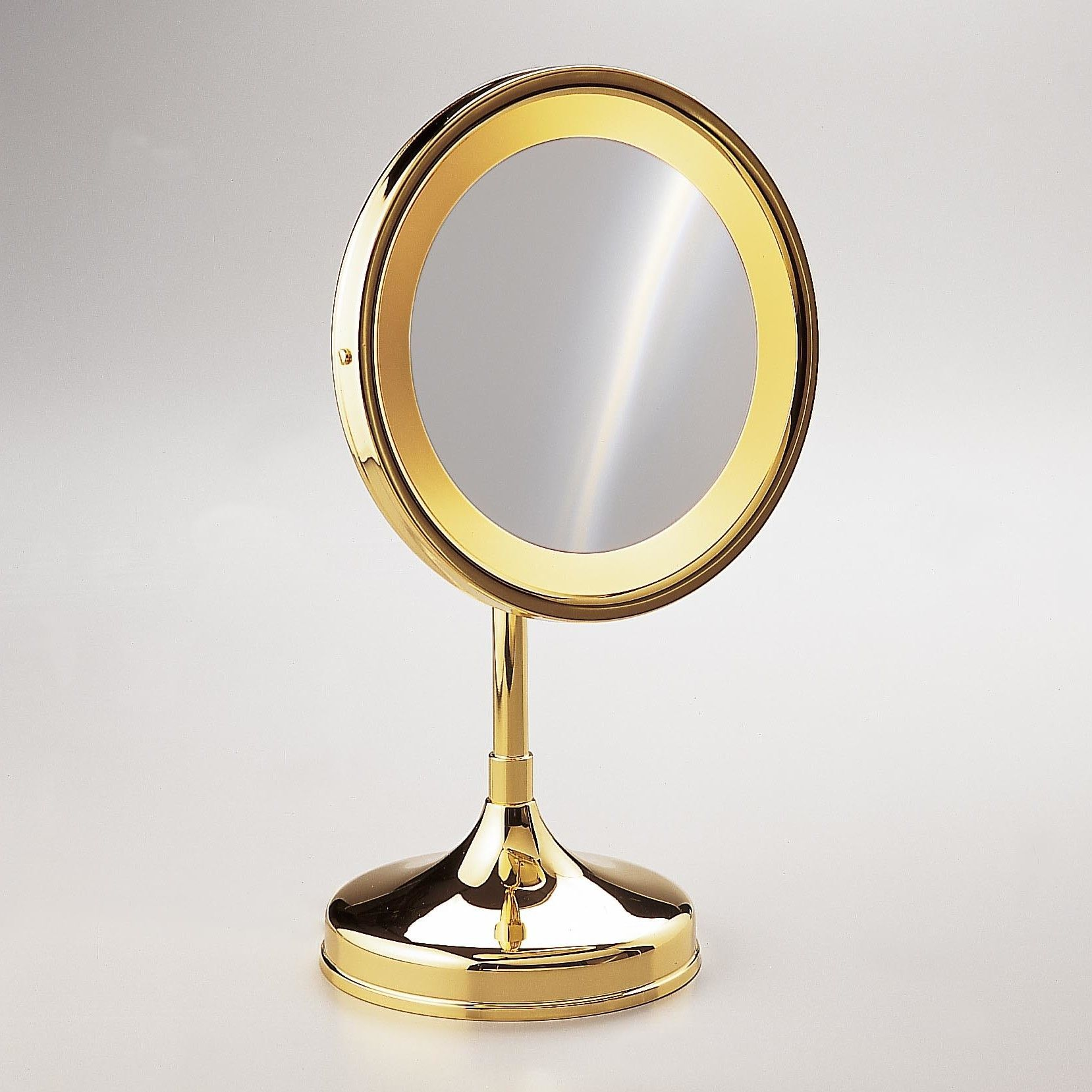 Round Pedestal Magnifying Mirror   Pedestal, Magnifying mirror and ...