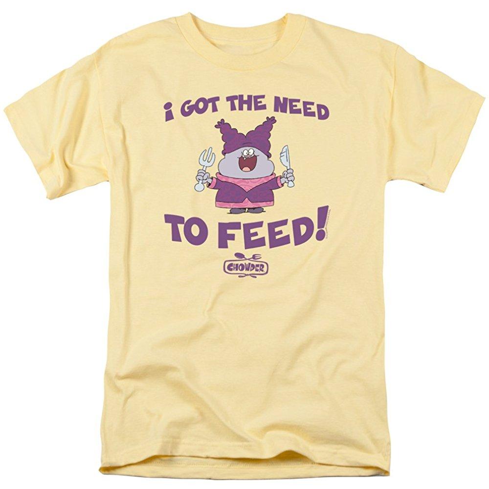 Chowder Cartoon Series Cartoon Network TV Show The Need Adult T Shirt Tee #chowdercartoon Chowder Cartoon Series Cartoon Network TV Show The Need Adult T Shirt Tee #chowdercartoon