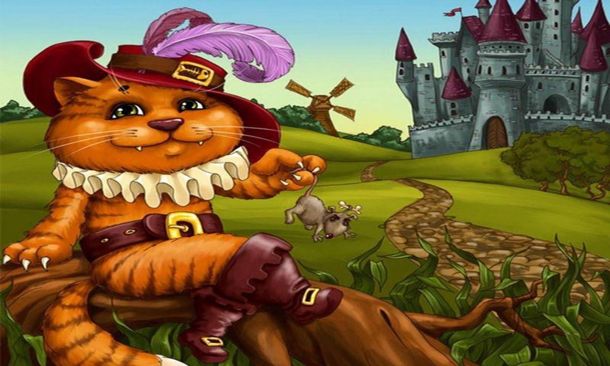 Кот из сказок картинки для детей