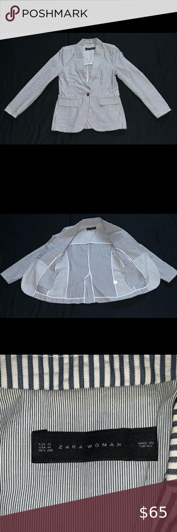 Women Zara Blazer Size Medium in 2020 Zara blazer, Zara