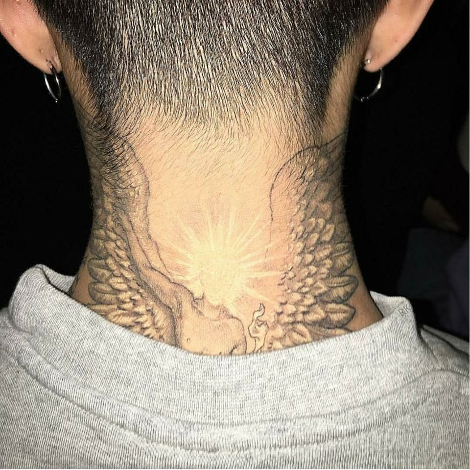 G Dragon Bigbang Tattoo G Dragon Tattoo G Dragon Neck Tattoo