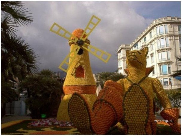 Цитрусовый фестиваль в Ментоне