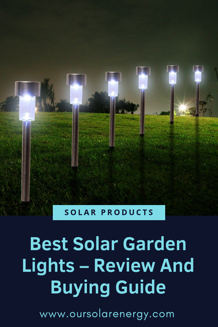 Best Solar Garden Lights Review And Buying Guide Best Solar