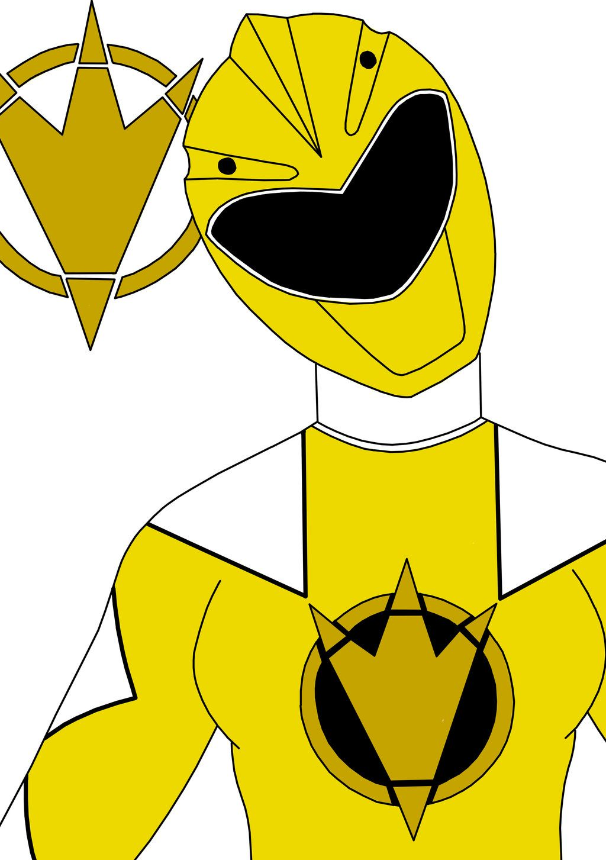 yellow dino thunder ranger by septimusparker deviantart com on