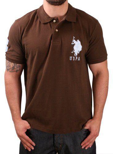 Amazon Com U S Polo Assn Men S Solid Polo With Big Pony Clothing Mens Tops Mens Shirts Pique Polo Shirt