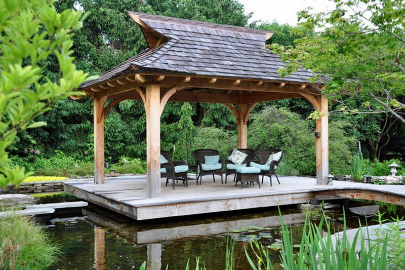 Custom Pagoda Style Roof Ideas For Japanese Patio Porch Inspired