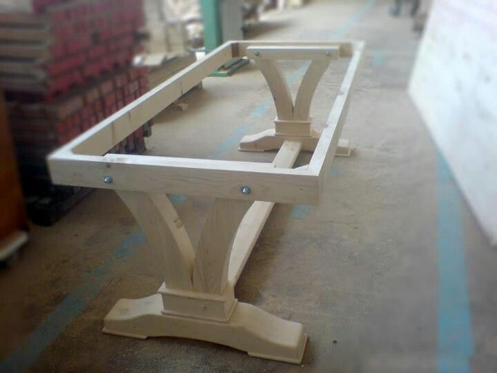 Table Base Furniture Projects Diy Furniture Farmhouse Table