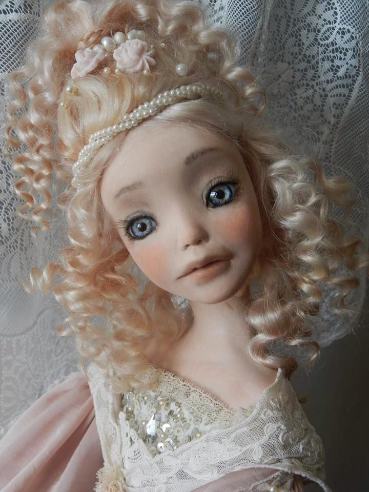 Art doll by Golovina Elena