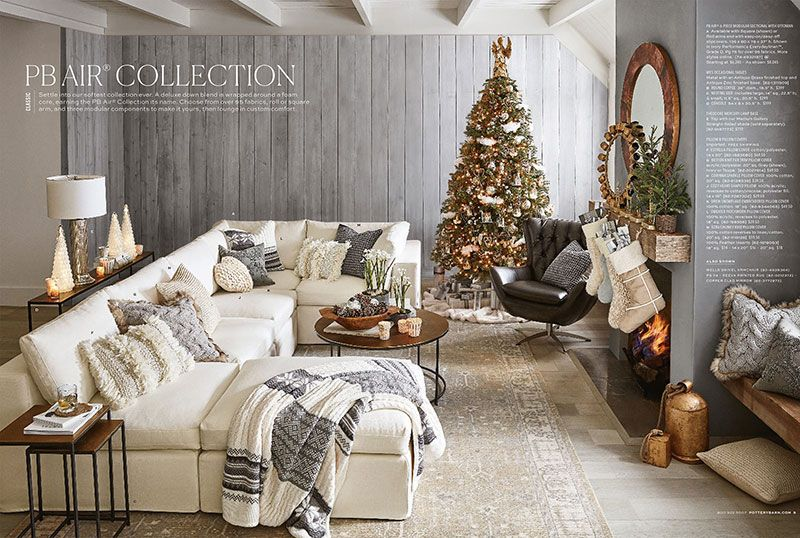 Magic Holidays By Pottery Barn Photos Ideas Design Furniture Arranging Bedroom Furniture Large Living Room Layout