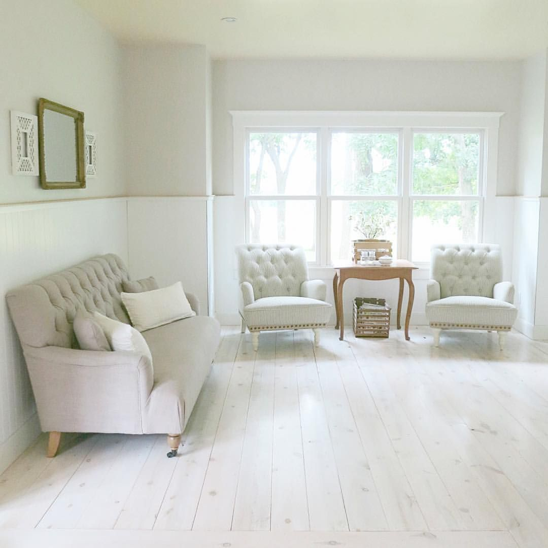White Wash Pickling Stain On Pine: Often I Get Asked About Our Floors... They Are Wood. We