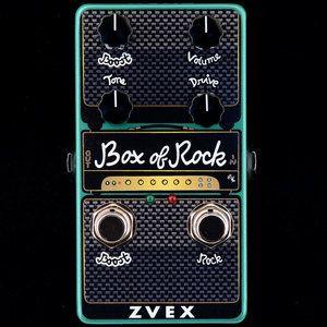 Zvex Box Of Rock Vert Jpg Guitar Effects Pedals Guitar